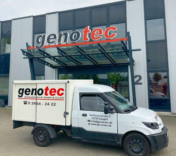 genotec Elektro Lieferwagen